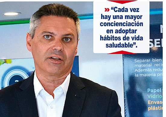 Miguel Ángel Conesa, director de Marketing de Carrefour España. (© Foto: A. LUQUERO / Vallecasweb.com)
