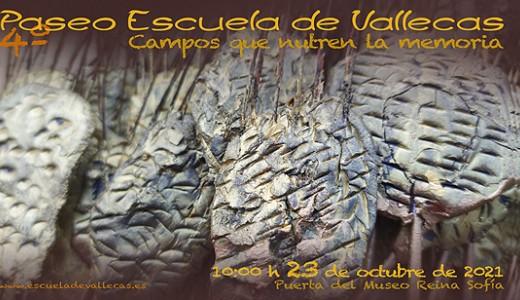 IV Paseo Homenaje a la Escuela de Vallecas, campos que nutren la memoria