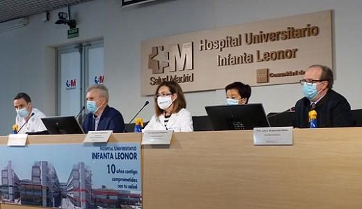 El Hospital Infanta Leonor recibe una nueva promoción de estudiantes de Medicina