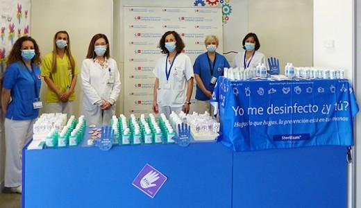 Los hospitales de Vallecas se suman a la conmemoración del Día de la Higiene de Manos