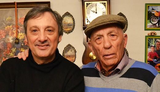 Vicente Córdoba Boti y su hijo Juan Vicente Córdoba, dos referentes en la historia de Vallecas
