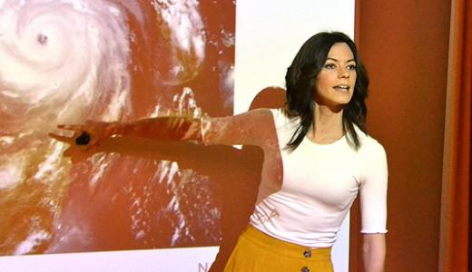 Isabel Moreno 'se pone seria' frente al cambio climático