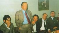 Pascual García Mora, un 'rojo' en la corte del Rayo Vallecano
