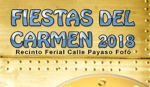 Programación completa de las Fiestas del Carmen 2018 en Puente de Vallecas