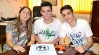 Alumnos de Bachillerato de Gredos San Diego crean una prueba deportiva familiar en Vallecas