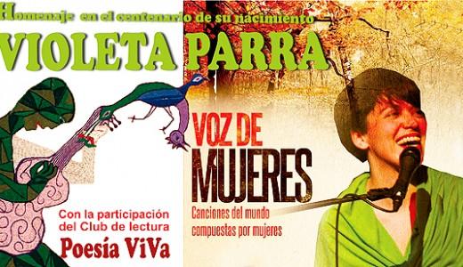 Villa de Vallecas homenajeará a la cantante Violeta Parra