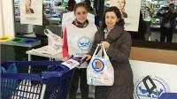 El Hipermercado E.Leclerc Vallecas recoge 3.700 kilos de comida para Banco de Alimentos de Madrid