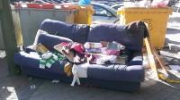 El sofá de Risto Mejide, en versión cutre