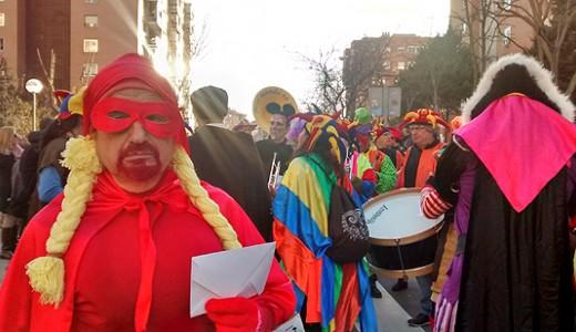 El barrio de Santa Eugenia recuperó la Fiesta de Carnaval