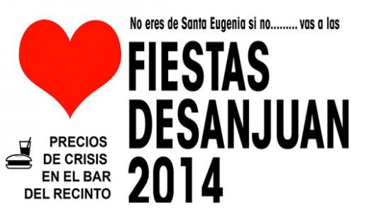 """Las Fiestas de San Juan en Santa Eugenia prenderán fuego a los """"malos rollos"""""""