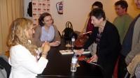 Los lectores conversaron con la escritora Lola Beccaria