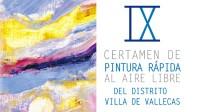 El IX certamen de pintura rápida de Villa de Vallecas será el 1 de junio