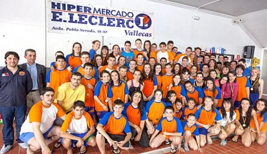 """Éxito de participación en el """"I Trofeo E.Leclerc Vallecas SOS"""" de salvamento y socorrismo"""