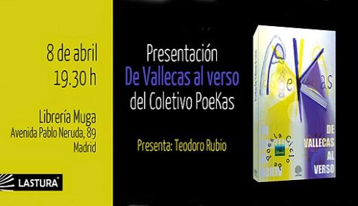 """PoeKas presenta su poemario """"De Vallecas al verso"""""""