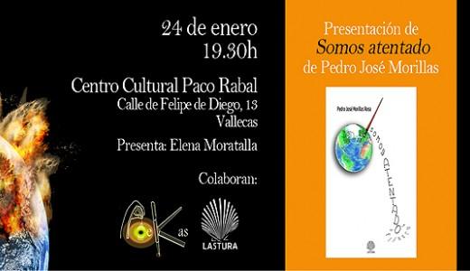 PoeKas presenta el primer poemario de Pedro José Morillas Rosa
