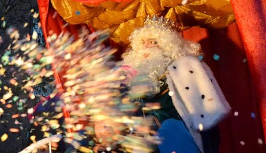 Los Reyes del confeti