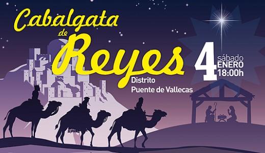 Cabalgata de Reyes 2014 en Puente y Villa de Vallecas