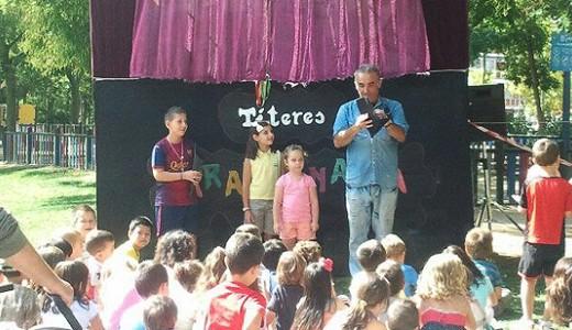 Títeres y payasos gratis en Puente de Vallecas