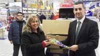 E.Leclerc Vallecas dona 1.000 kilos de productos al Banco de Alimentos