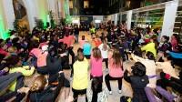 Doscientas chicas corren 5 km entrenando para la San Silvestre