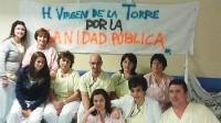 Los trabajadores del Hospital Virgen de la Torre no se rinden