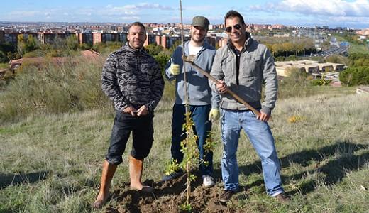 Vecinos de Santa Eugenia convertirán el Cerro Almodóvar en un bosque
