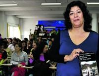 Almudena Grandes presentó en Vallecas su último libro